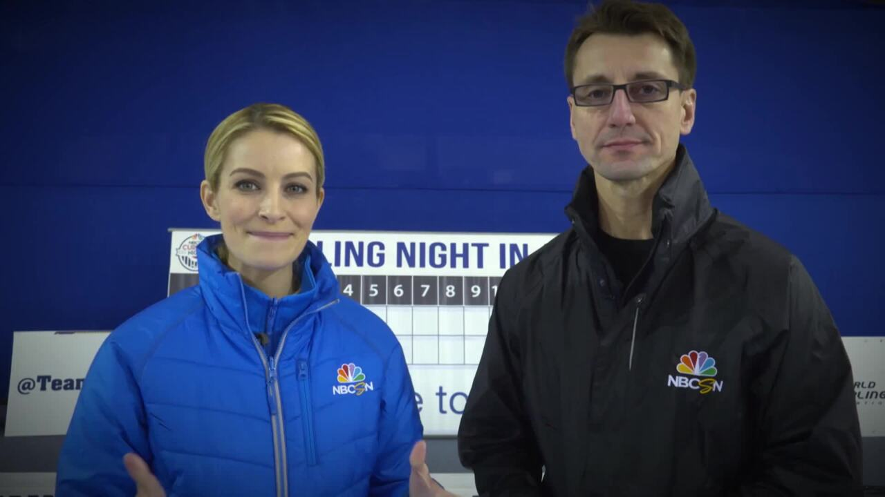 Curling Night In America | Learning Curling Positions