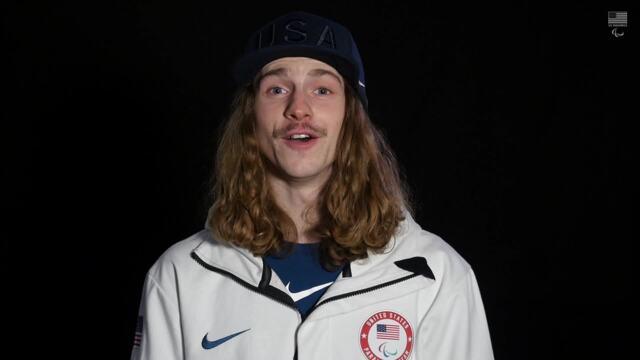 Noah Elliott On Being Named to Team USA   PyeongChang Paralympics