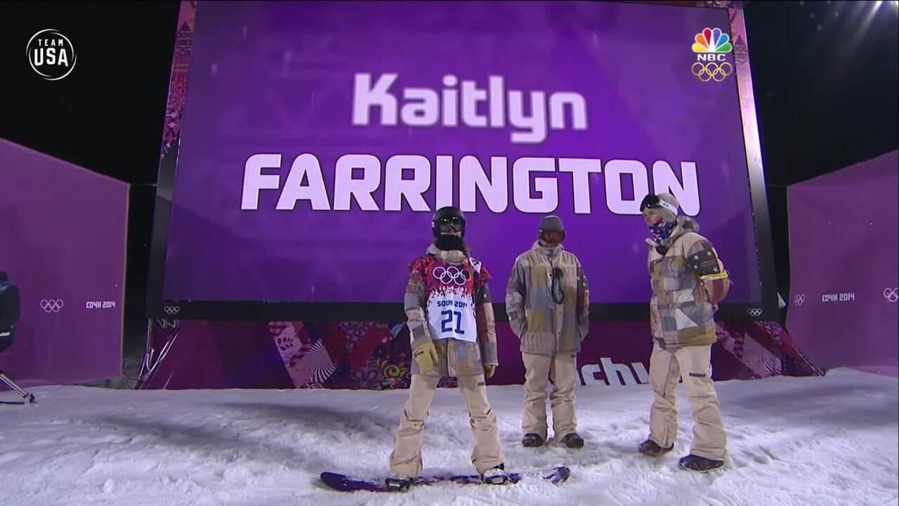 Team USA Olympic Anniversary | Kaitlyn Farrington Sochi 2014