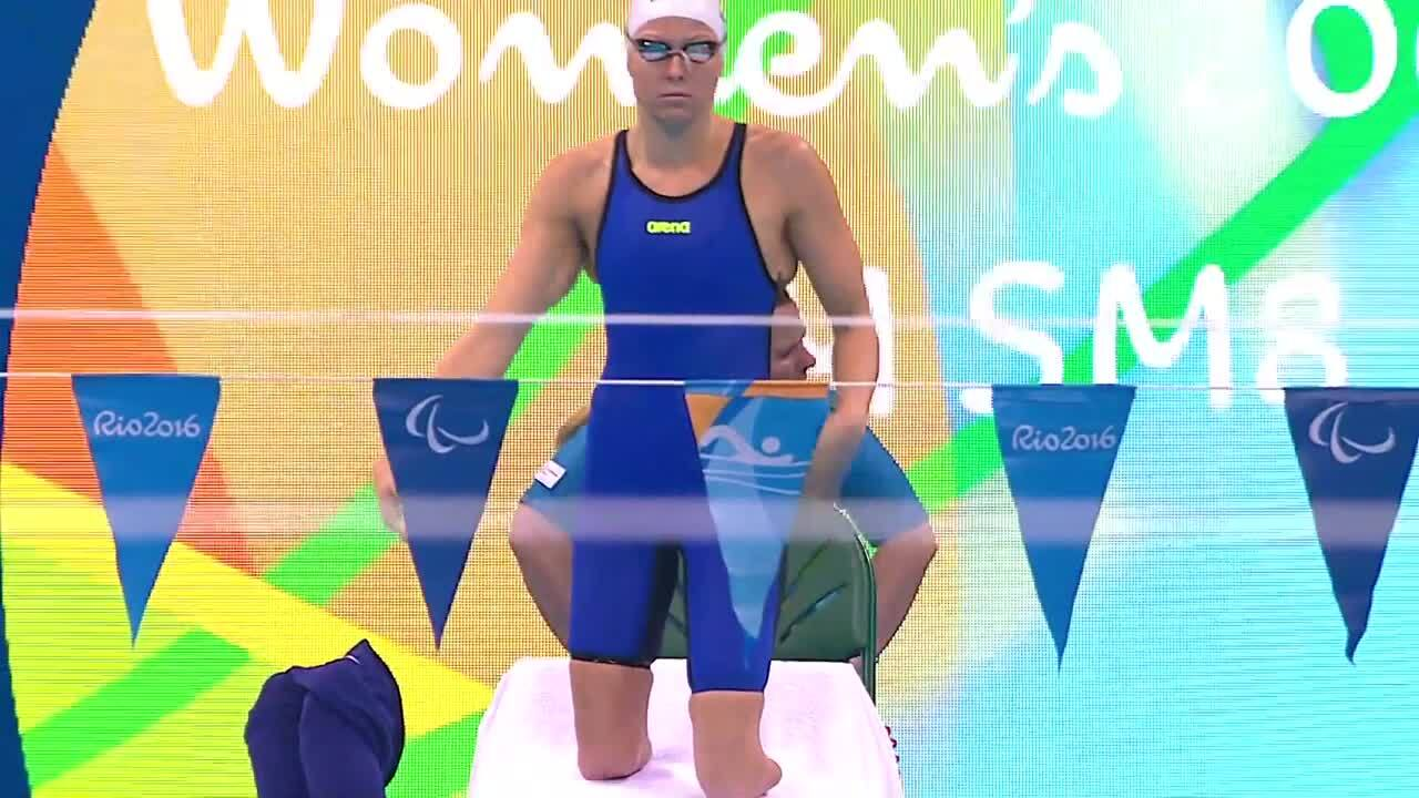 Jessica Long | Women's 200m Individual Medley S8 Heat | 2016 Paralympic Games