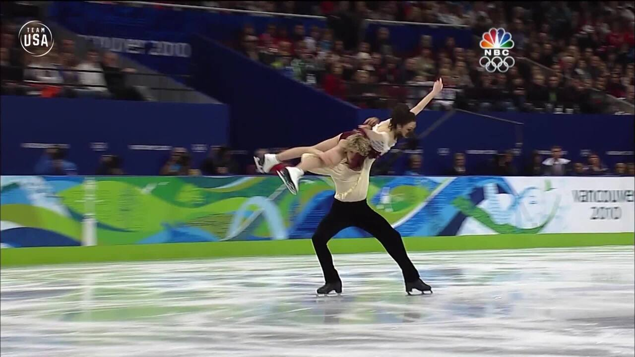 Team USA Olympic Anniversary | Meryl Davis and Charlie White Vancouver 2010