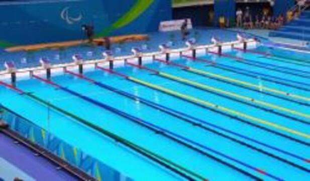 McKenzie Coan Wins Gold In Women's 50m Freestyle S7 Final | 2016 Paralympic Games