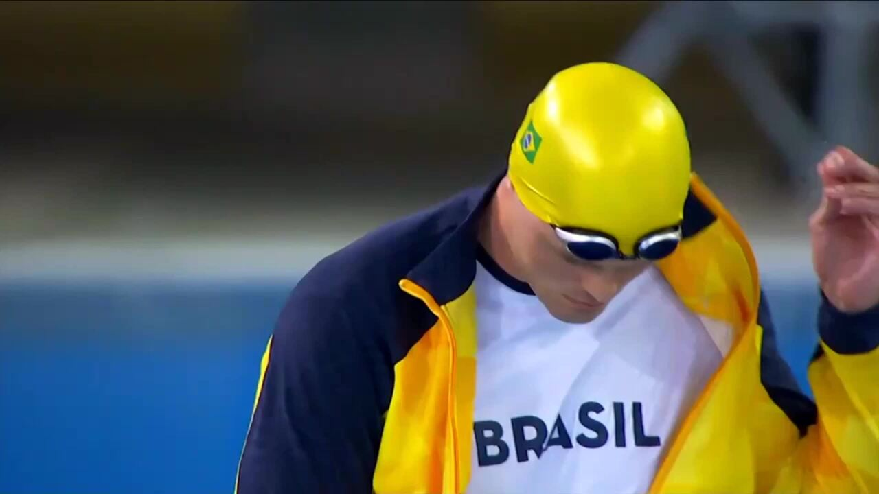 Carson Sanocki Wins Bronze In Men's S10 100m Freestyle | Parapan American Games Lima 2019