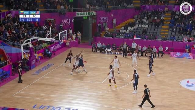Team USA Downs Venezuela In Basketball Prelims | Pan American Games Lima 2019