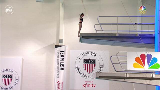 Amy Cozad Magaña Earns Bronze At USA Diving Nationals With These Dives