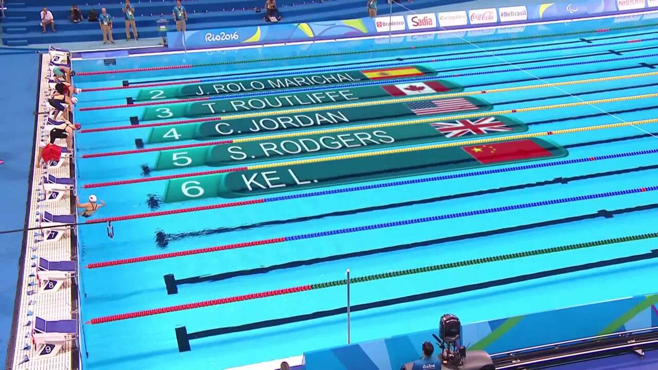 Cortney Jordan | Women's 50m Freestyle S7 Heat | 2016 Paralympic Games
