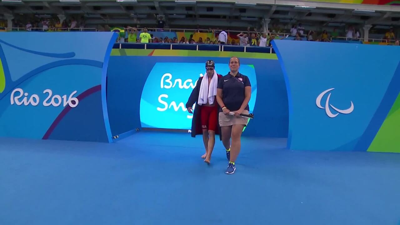 BMW Performance Of The Day | Brad Snyder Men's 400m Freestyle S11