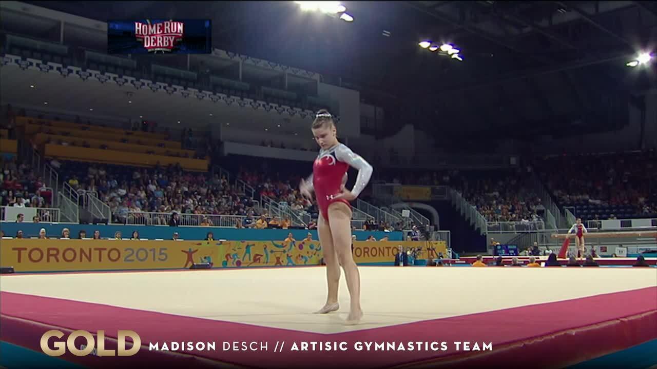 Women's Gymnastics Team Takes Gold In Toronto