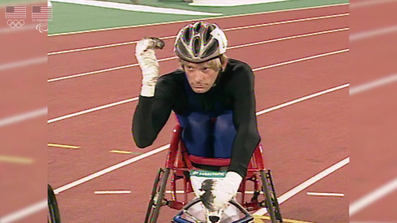 Bart Dodson - Para Track and Field - U.S. Olympic & Paralympic Hall of Fame Nominee