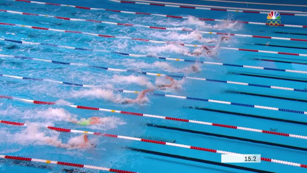 Olympic Swimming Trials   Highlights From Day 7