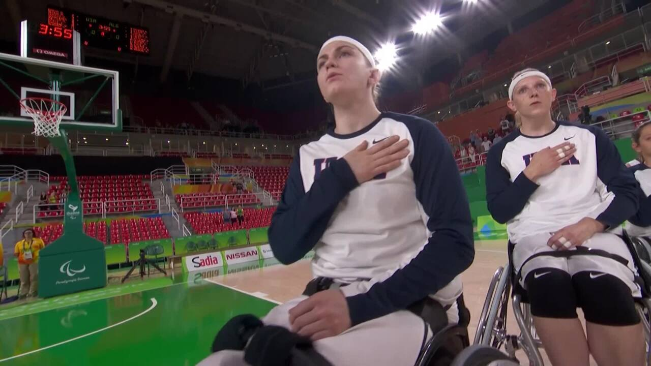 Women's Wheelchair Basketball | USA vs Algeria Group B Preliminary | 2016 Paralympics