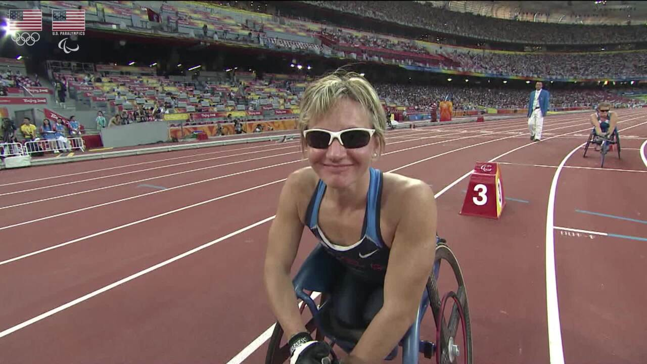 Cheri Blauwet - Para Track and Field - U.S. Olympic & Paralympic Hall of Fame Nominee