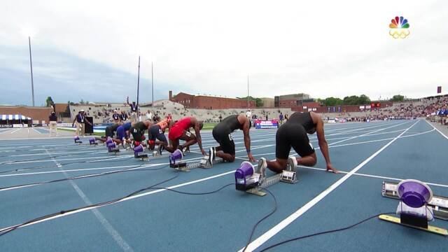 Noah Lyles Wins 100-Meter National Championship