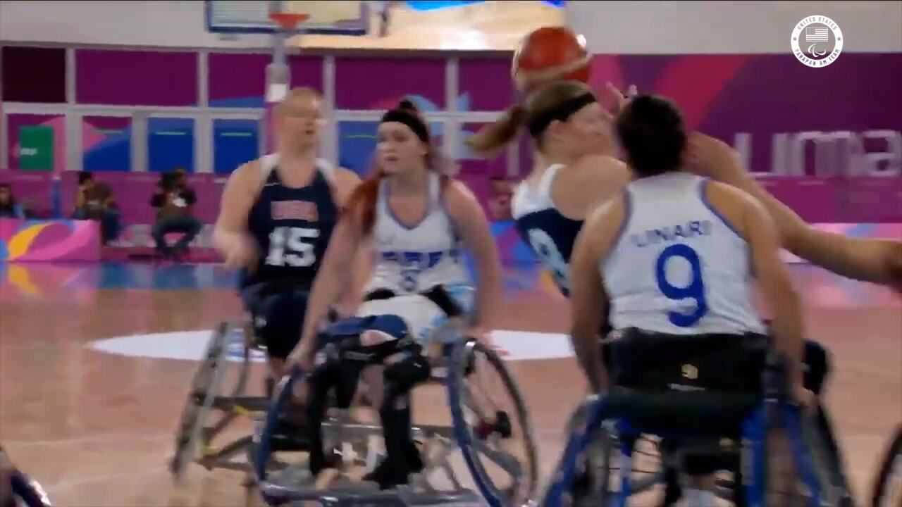 Women's Wheelchair Basketball Beats Argentina, Qualifies for Tokyo 2020 | Parapan American Games Lima 2019
