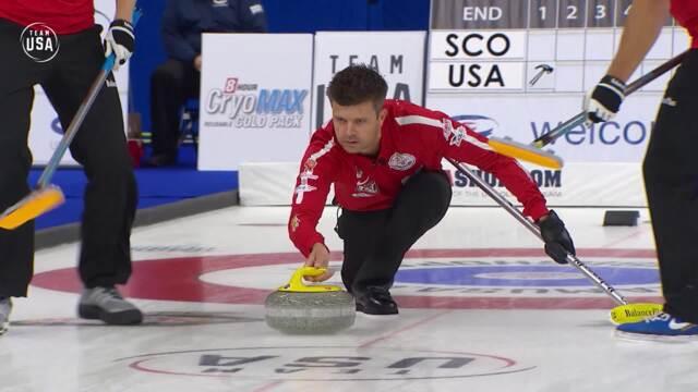 Curling Night in America | U.S. vs. Scotland Men Highlights - Episode 1
