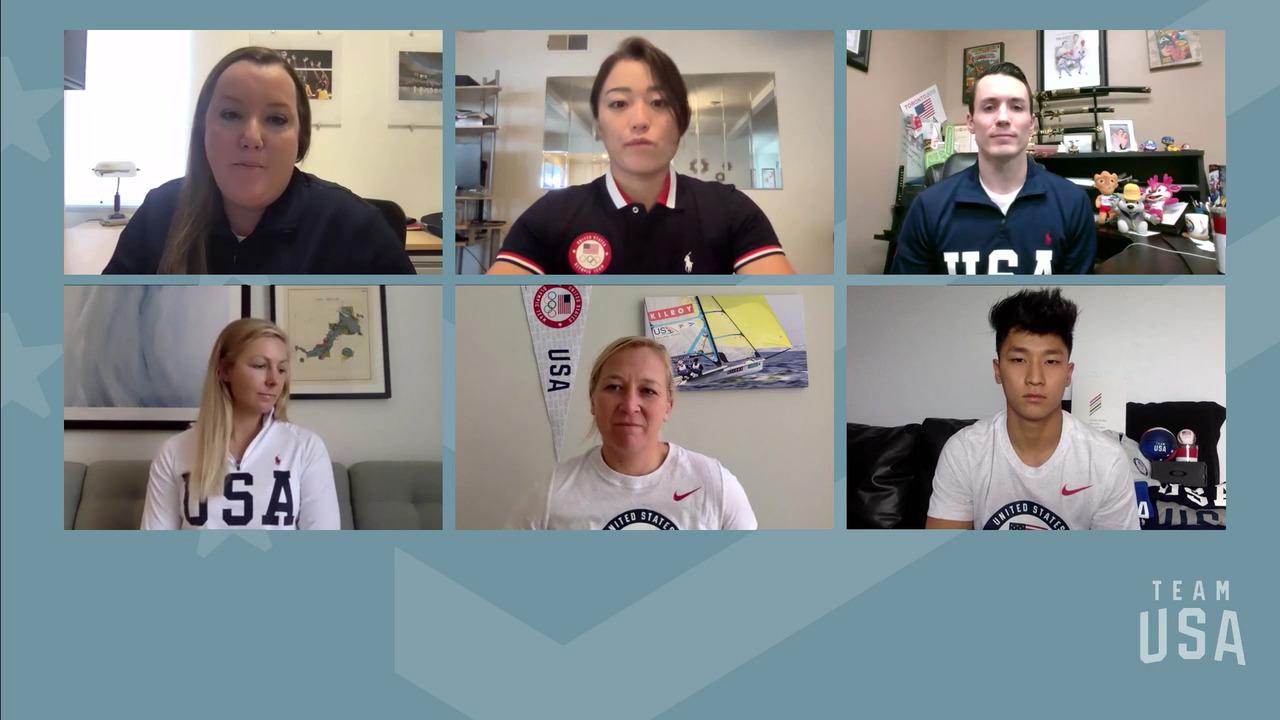 Sakura Kokumai, Tom Scott, Stephanie Roble, Maggie Shea, Yul Moldauer | Tokyo 2020 Team USA Virtual Media Summit