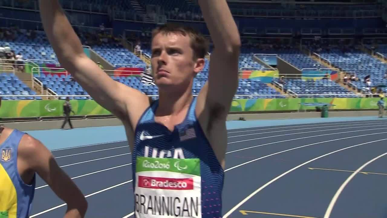 BMW Performance of the Day | Michael Brannigan Men's 1500m T20 Final
