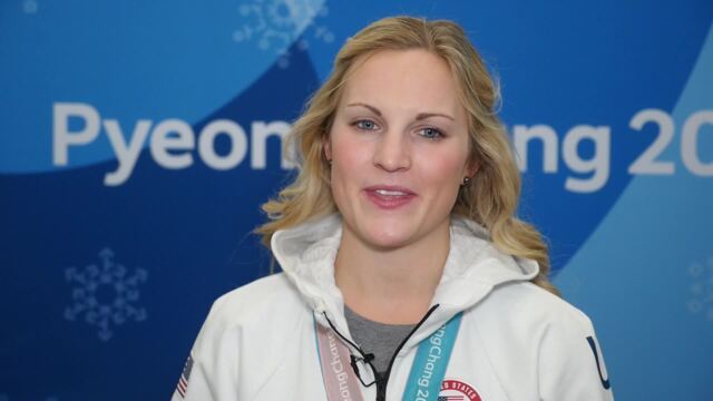 Jocelyne Lamoureux-Davidson On Her Gold Medal-Winning Goal | Team USA In PyeongChang