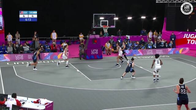 USA 3x3 Women's Basketball Wins Gold In Lima | Pan American Games Lima 2019