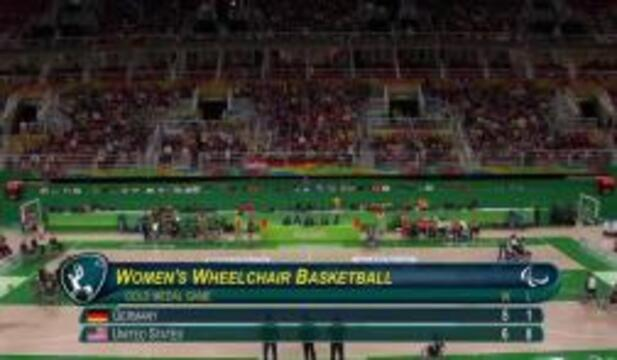 USA vs GER | GOLD | Women's Wheelchair Basketball Gold Medal Game | 2016 Paralympic Games