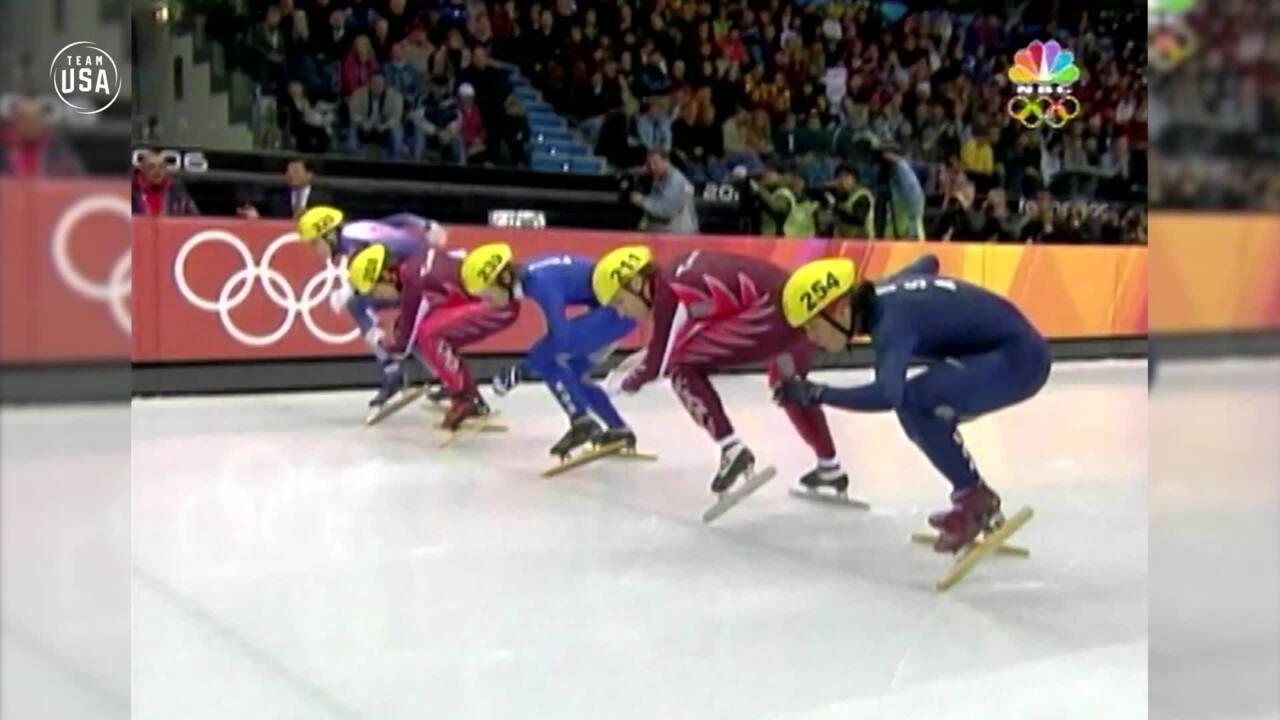 Team USA Olympic Anniversary | Apolo Ohno Torino 2006