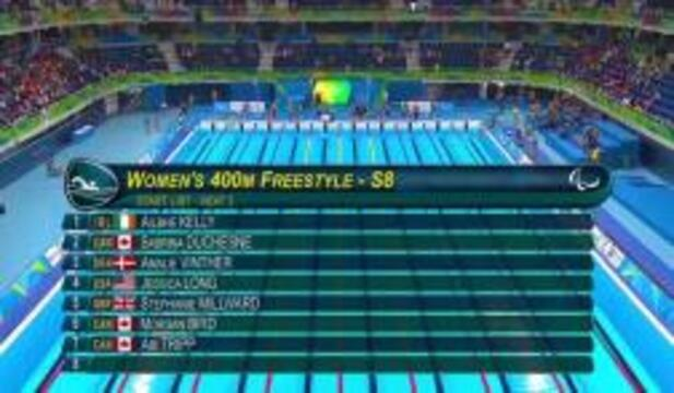 Jessica Long | Women's 400m Freestyle Heat S8 | 2016 Paralympic Games