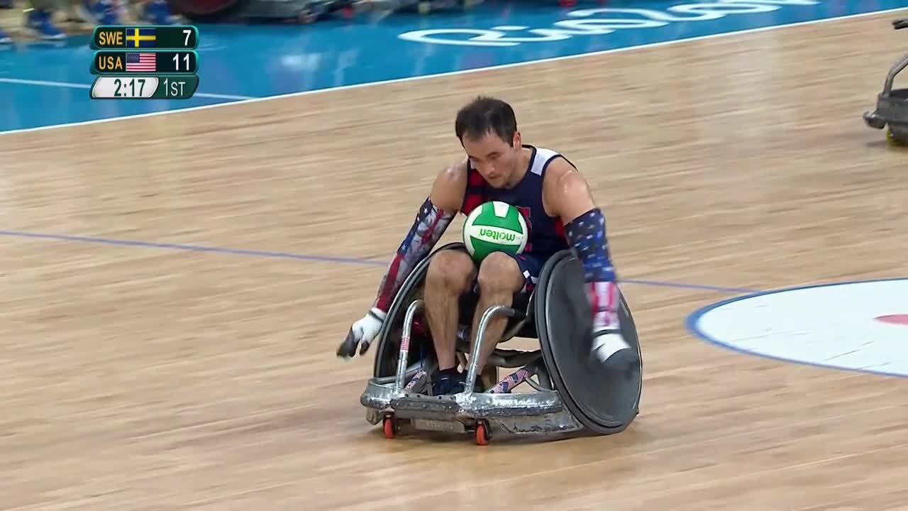 Wheelchair Rugby | USA vs Sweden | 2016 Paralympic Games