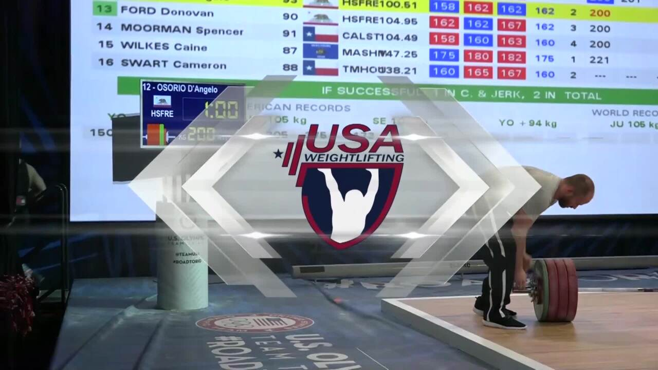 Wesley Kitts Competes At The 2016 U.S. Olympic Team Trials