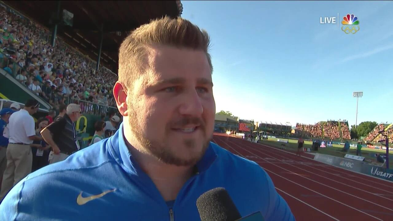 Olympic Track And Field Trials | Hear From U.S. Olympic Men's Shot Put Team