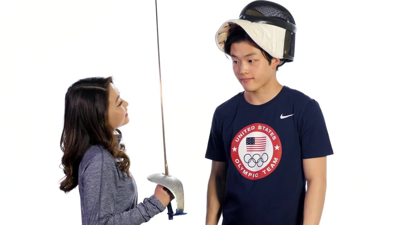 Olympic Sports Revealed With The Shib Sibs: Fencing