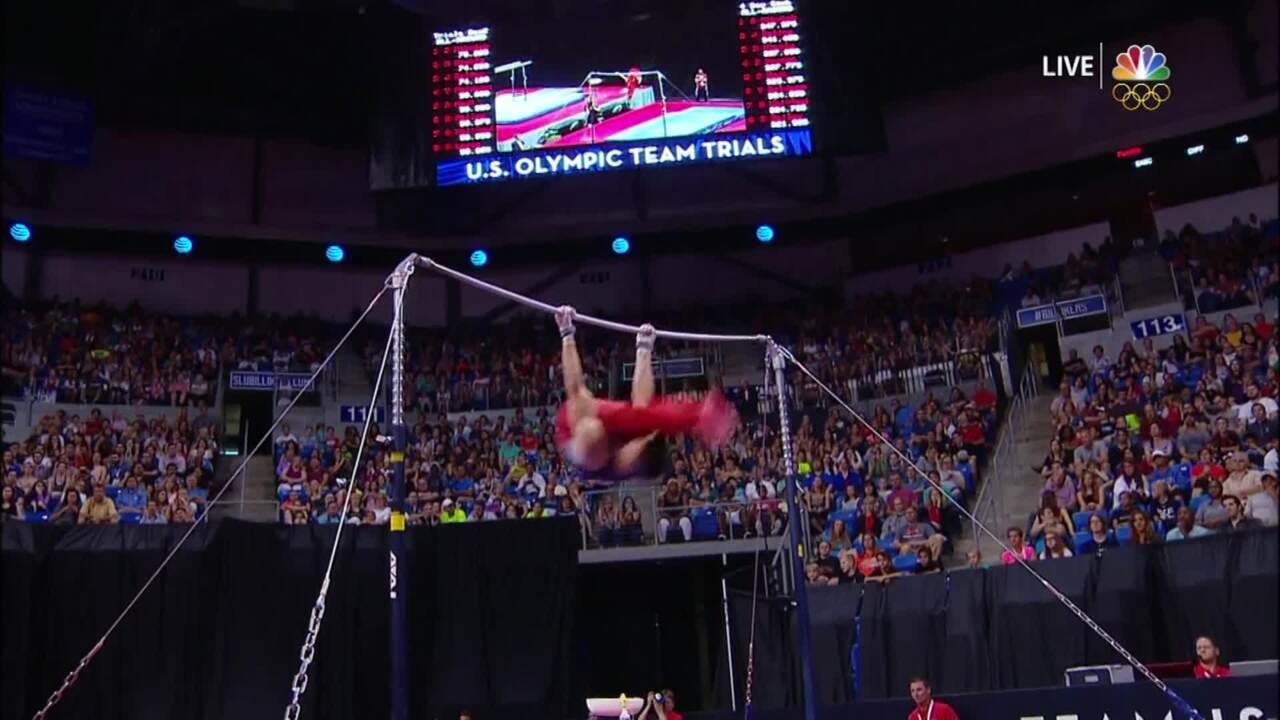 2016 Mens Gymnastic Trials Highlight.mp4