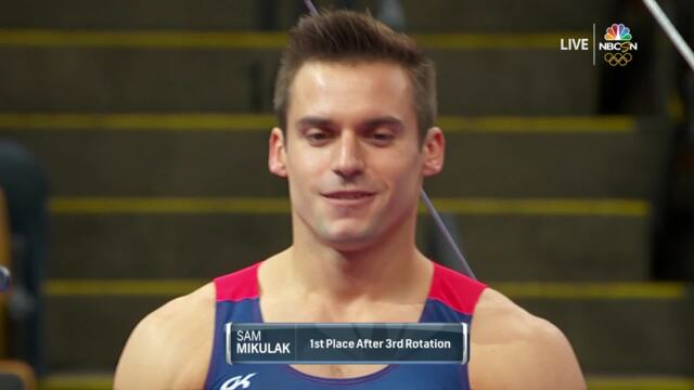 Sam Mikulak Finishes Strong On High Bar | Summer Champions Series