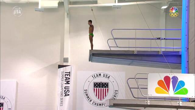 David Dinsmore, Brandon Loschiavo Battle For 10-meter Diving National Title