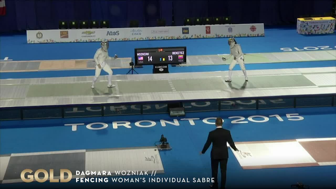 Dagmara Wozniak Wins First Fencing Gold For Team USA