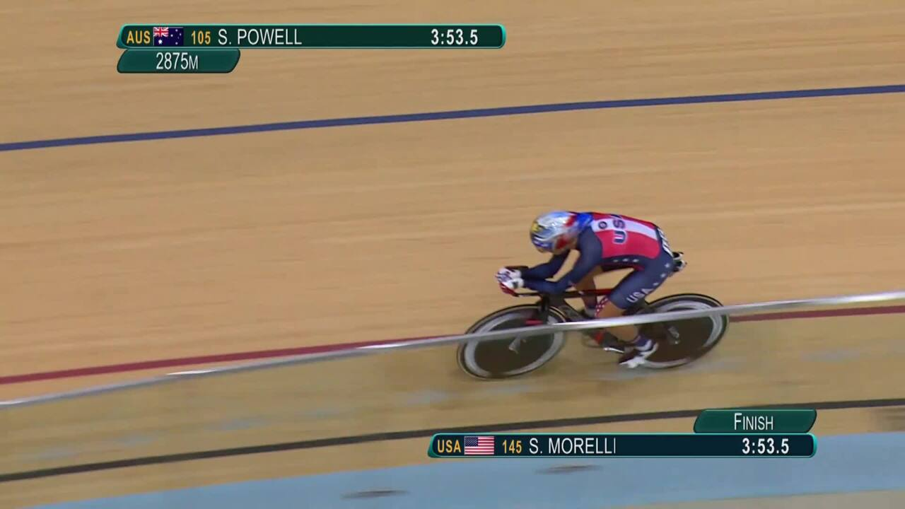 Shawn Morelli | Women's C4 3000m Individual Pursuit Final | Paralympics 2016