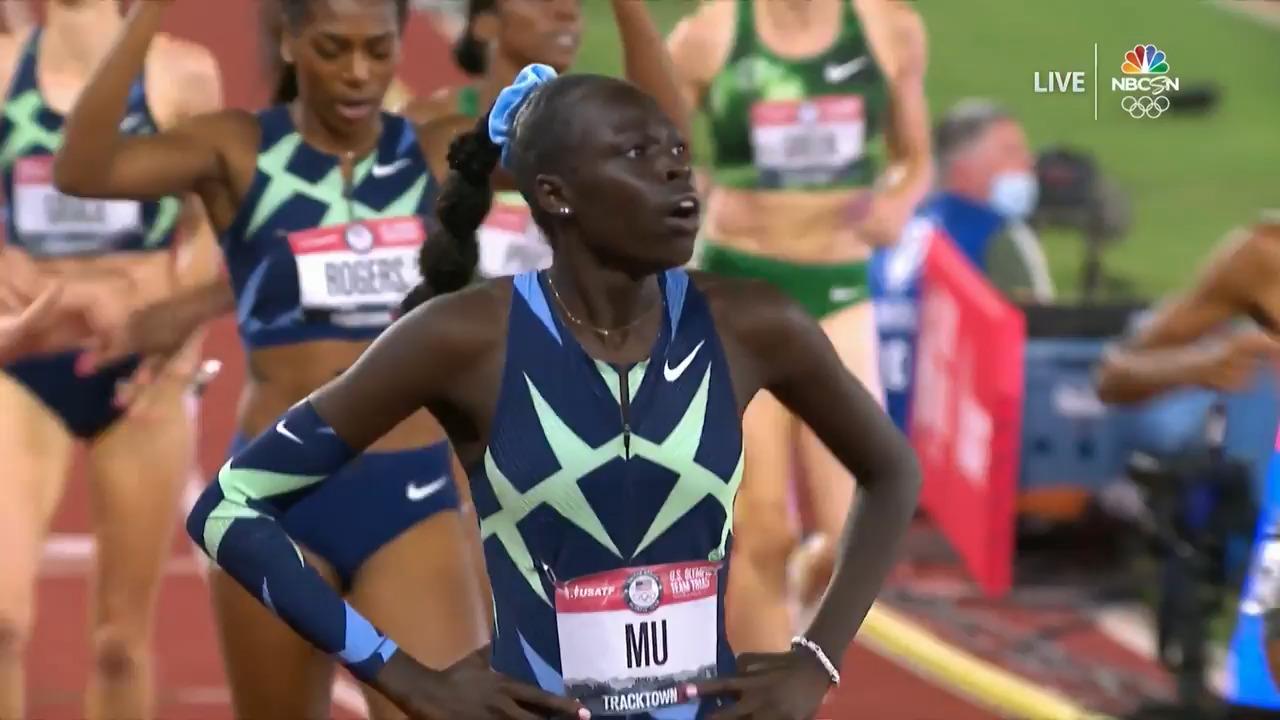 Women's 800 Meter Final | Track & Field U.S. Olympic Team Trials 2021