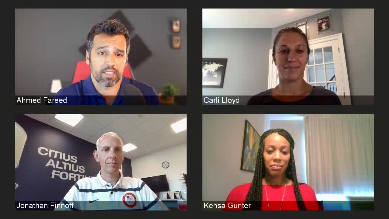 Return To Sport Webinar Featuring Carli Lloyd