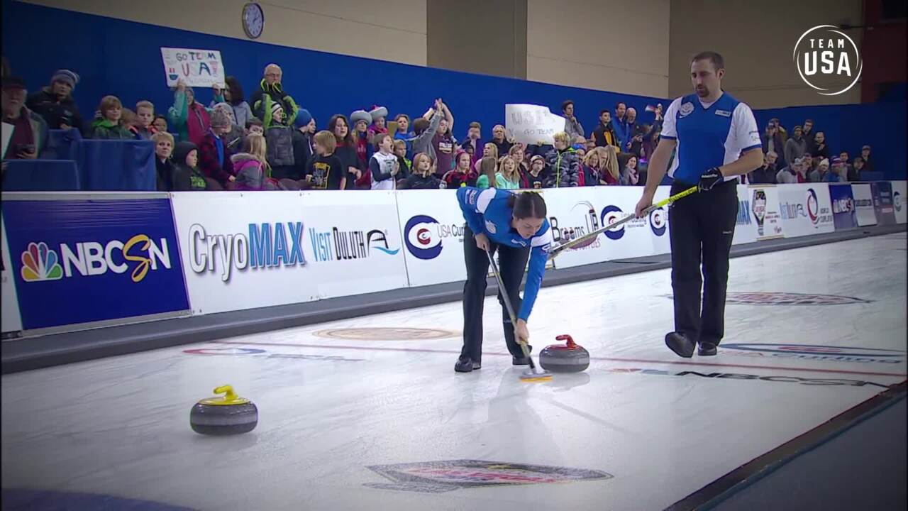 Curling Night In America | Mixed Doubles Explained