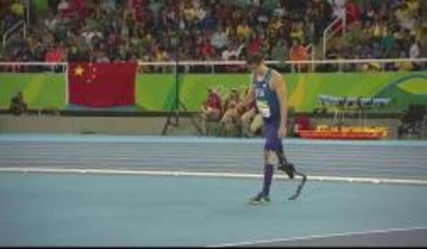 Sam Grewe | Men's High Jump T42 Final- Silver | Track and Field | 2016 Paralympic Games