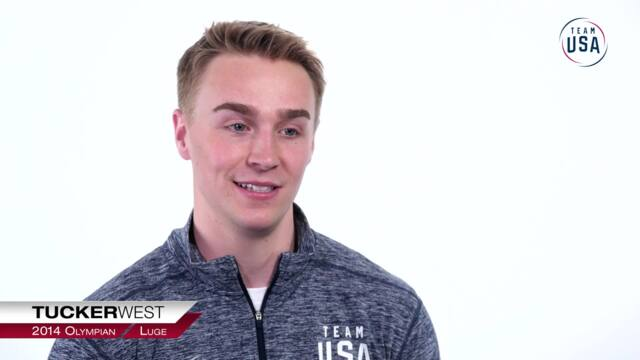Father-Son Bond: How Tucker West Became Involved In Luge