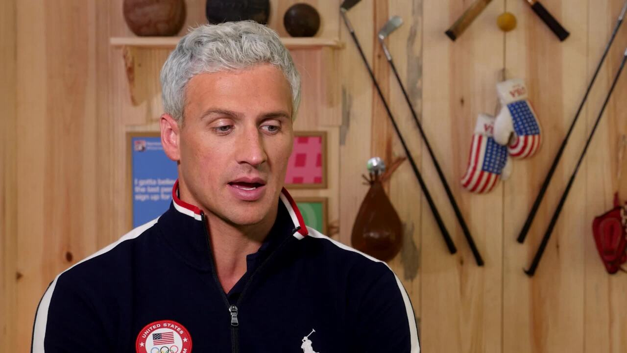 Ryan Lochte On Taking A Break From Swimming