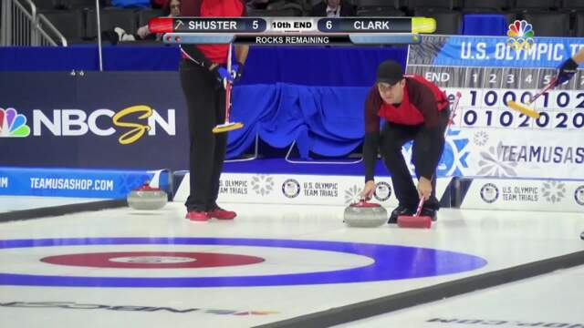 Olympic Curling Trials | Team Shuster Opens Play With A Win Over Team Clark