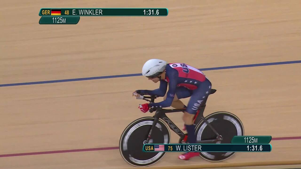 William Lister | Men's C1 3000m Individual Pursuit Qualifying | Track Cycling | 2016 Paralympic Game