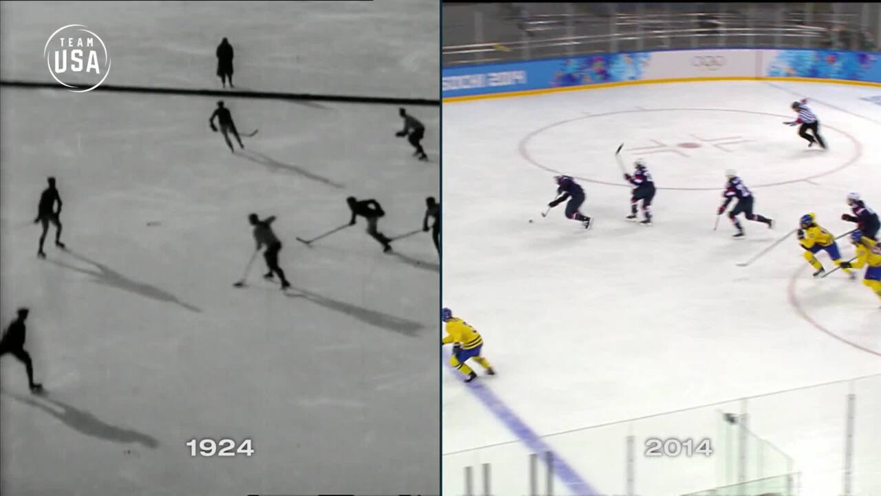 Then & Now: Ice Hockey