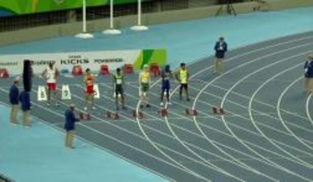 Men's T13 100m Round 1 Heat 2 | 2016 Paralympics