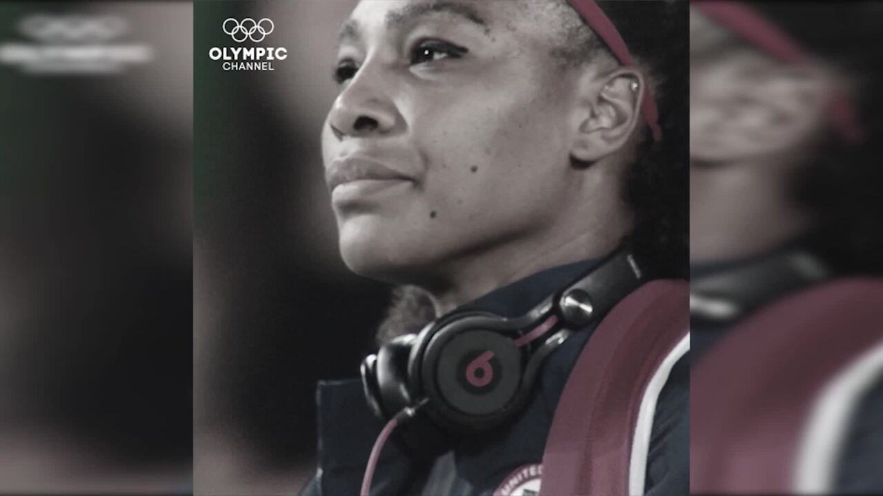 Olympic Channel: Inspiration From Serena Williams For #IWD2017