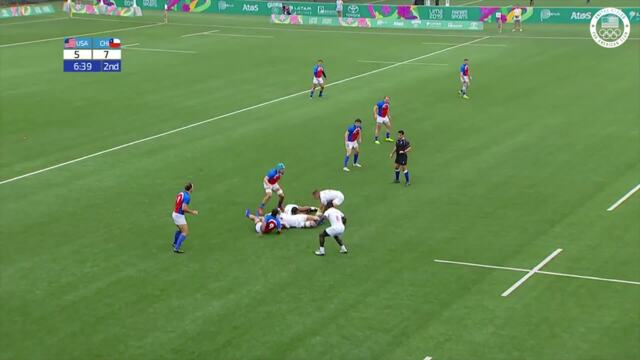 Men's Rugby Gets The Victory v. Chile | Pan American Games Lima 2019