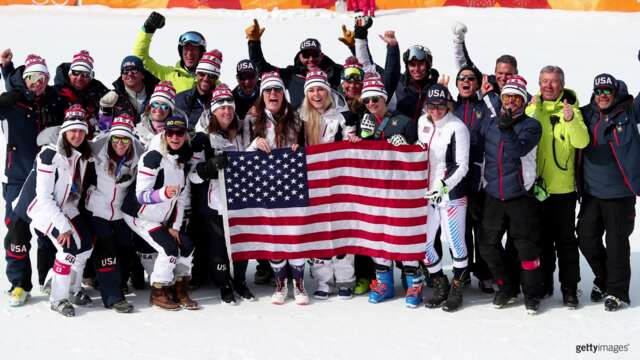 "Lindsey Vonn: ""I Love Being Part Of The Team"" 