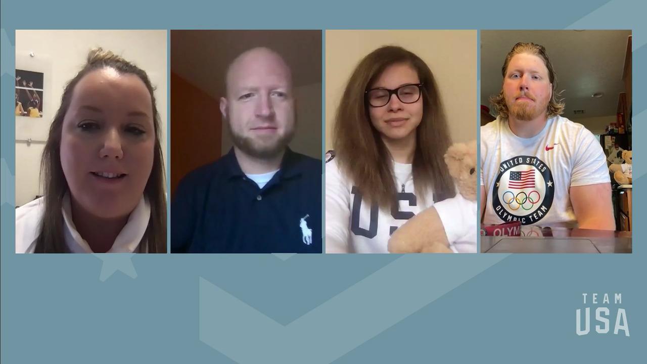 Ryan Crouser, Amanda Dennis, Matt Stutzman | Tokyo 2020 Team USA Virtual Media Summit