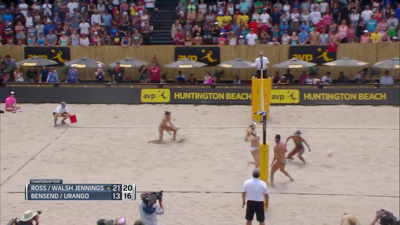 Kerri Walsh Jennings And April Ross Roll To Victory At The AVP Huntington Beach Open